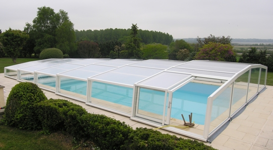 The technical specification of the Low Pool Enclosure.
