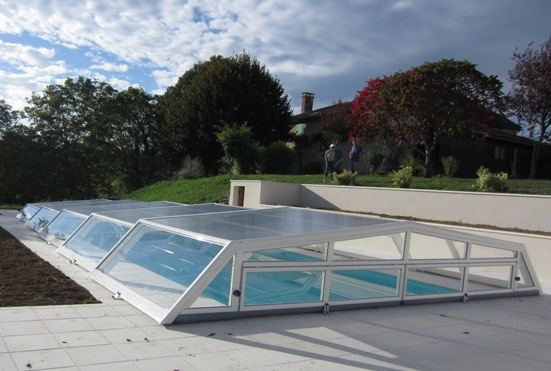 The  Iris low level pool enclosure