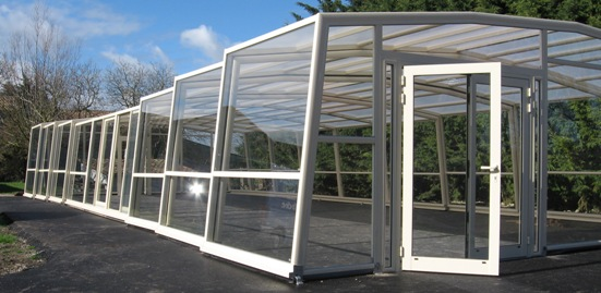 The 5 angle Olympia enclosure can cover wide areas