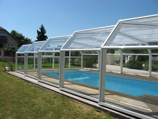 The traditional 5 angle Pool Enclosure is the most popular model
