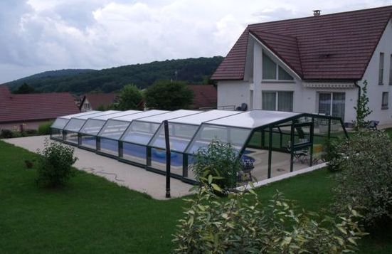 5 intermediate angles pool shelters shelter pool and for Piscine chlore trop bas