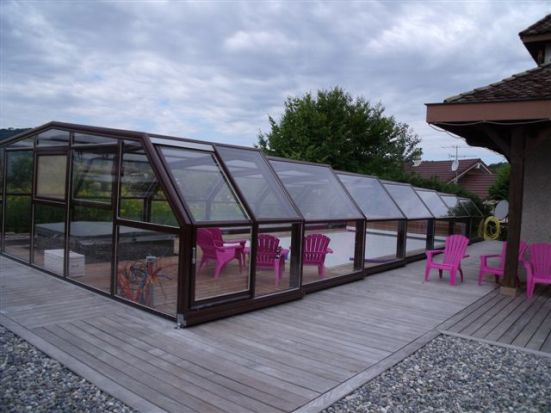 The 5 angle medium height enclosure offers more room