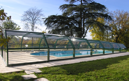 Metal Pool Shelters : Intermediate angles pool shelters shelter and